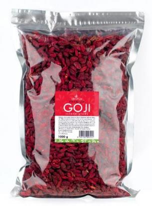 Goji Kustovnice čínská, sušená 1000 g