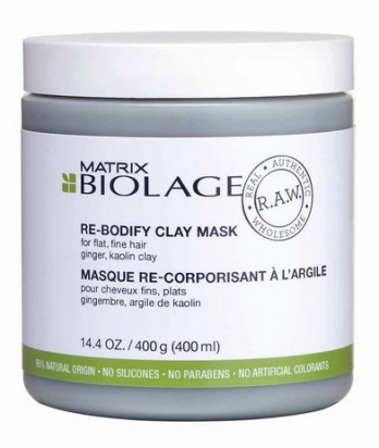 R.A.W. Re-Bodify Clay Mask