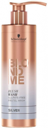 Blond Me Blush Wash Silver