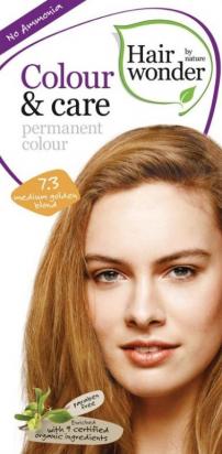 Permanent Colour Medium Golden Blond 7.3