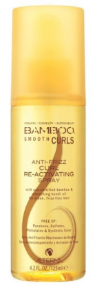 Bamboo Smooth Curls Anti-Frizz Curl Reactivating Spray