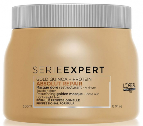 Série Expert Absolut Repair Gold Quinoa + Protein Golden Masque MAXI