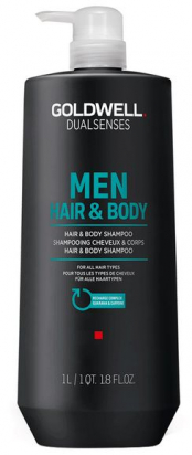 Dualsenses Men Hair & Body Shampoo MAXI