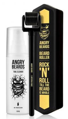 Beard Roller & Tool Cleaner