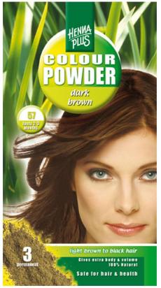 Colour Powder Dark Brown 57