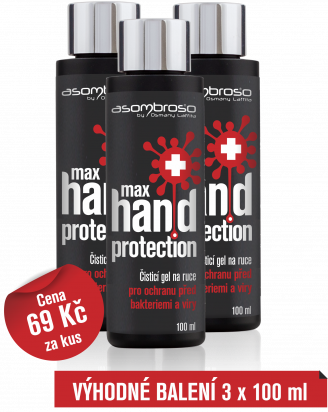 Max Hand Protection 100 ml, 3 kusy