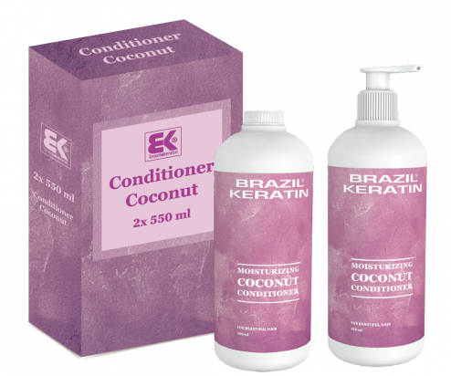 Moisturizing Coconut Conditioner 2x 550 ml