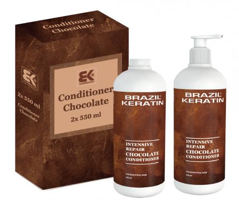 Intensive Repair Chocolate Conditioner 2x 550 ml