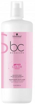 BC Bonacure pH 4.5 Color Freeze Sulfate-Free Micellar Shampoo MAXI