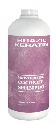 Moisturizing Coconut Shampoo 550 ml