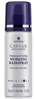 Caviar Professional Styling Working Hairspray MINI