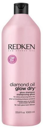 Diamond Oil Glow Dry Gloss Shampoo MAXI