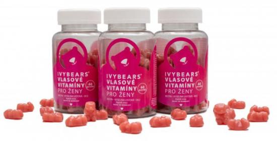 Vlasové vitamíny pro ženy, 3PACK