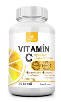 Vitamín C 1000 mg 60 cps