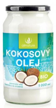 Kokosový olej panenský BIO 1000 ml