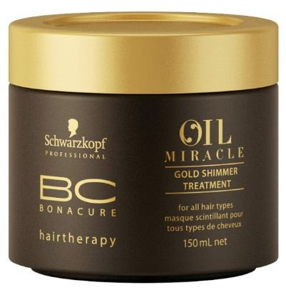 BC Bonacure Oil Miracle Gold Shimmer Treatment