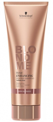 Blond Me Tone Enhancing Bonding Shampoo Warm Blondes
