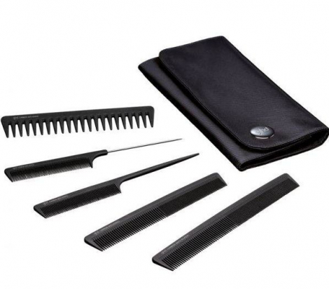 Professional Comb Set in Wallet