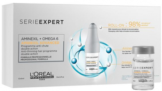 Série Expert Aminexil Advanced Roll-On 10x6ml