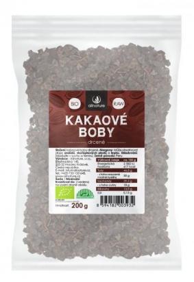Kakaové boby drcené BIO/RAW 200 g