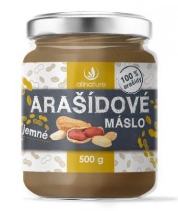 Arašídové máslo jemné 500 g