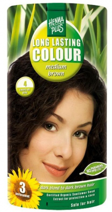 Long Lasting Colour Medium Brown 4