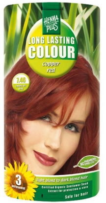 Long Lasting Colour Copper Red 7.46