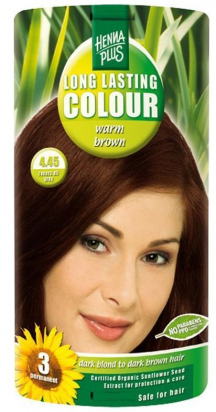 Long Lasting Colour Warm Brown 4.45