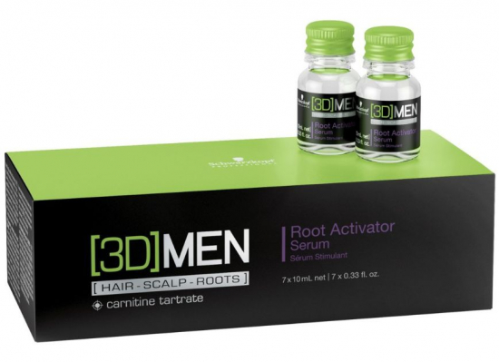 [3D]Mension Root Activator Serum Shots