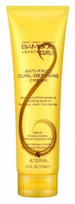 Bamboo Smooth Curls Anti-Frizz Curl Defining Creme