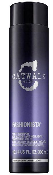 TIGI Catwalk Fashionista Violet Shampoo - šampon pro blond a melírované vlasy 300 ml