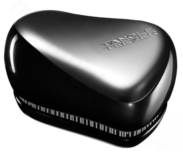 Tangle Teezer Compact Groomer - stříbrno-šedý pánský kompaktní kartáč