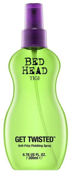 TIGI Bed Head Get Twisted Anti-Frizz Finishing Spray - sprej pro fixaci a kontrolu krepatění 200 ml