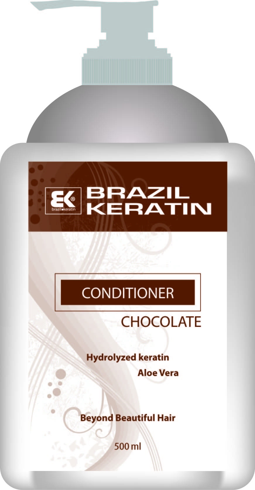 BK Brazil Keratin Intensive Repair Chocolate Conditioner 500 ml - keratinový regenerační kondicionér 500 ml