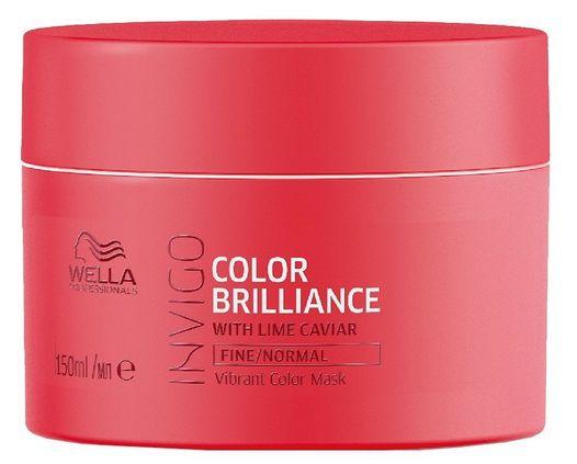 Wella Invigo Color Brilliance Vibrant Color Mask Fine - maska pro jemné až normální barvené vlasy 150 ml