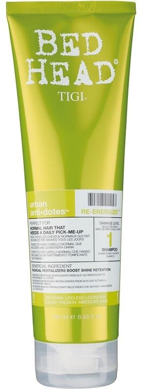 TIGI Bed Head Urban Anti+Dotes Re-Energize Shampoo - revitalizující a posilující šampon 250 ml