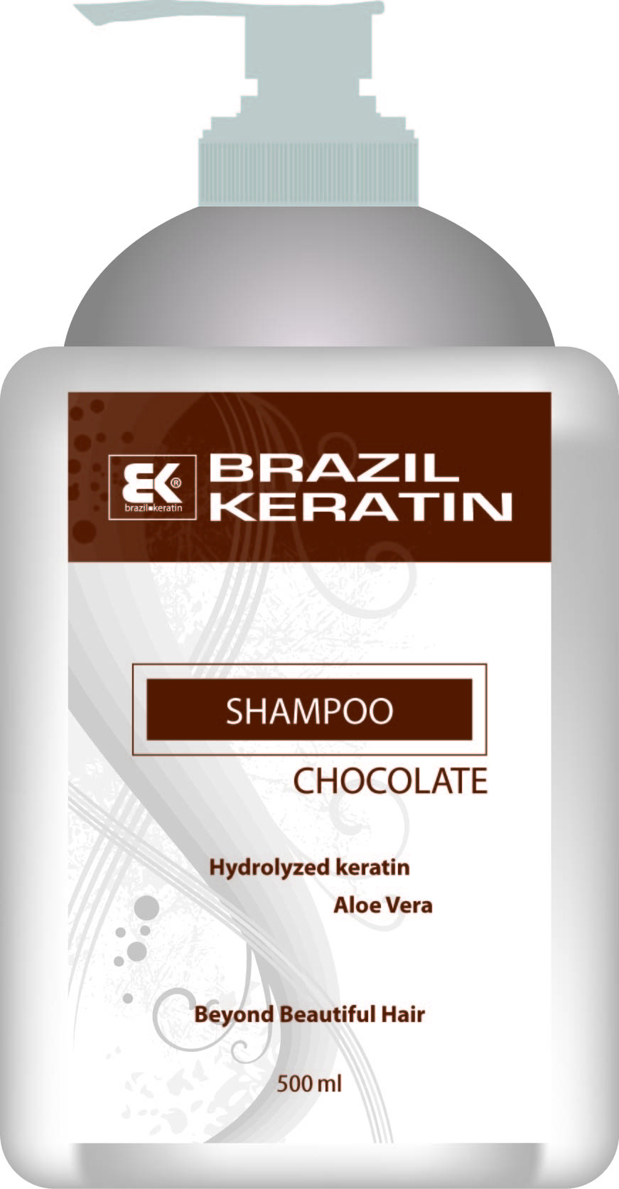 BK Brazil Keratin Intensive Repair Shampoo Chocolate 500 ml - keratinový regenerační šampon 500 ml