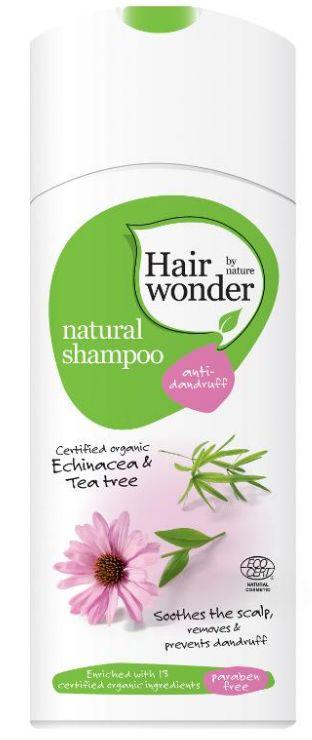 Hair Wonder Natural Shampoo Anti Dandruff - přírodní šampon proti lupům 200 ml