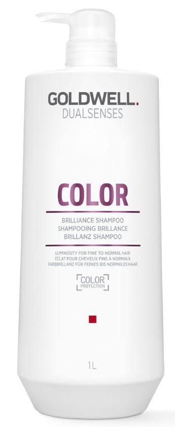 Goldwell Dualsenses Color Brilliance Shampoo MAXI - šampon pro normální až jemné barvené vlasy 1000 ml