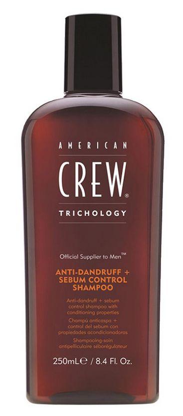 American Crew Trichology Anti-Dandruff + Sebum Control Shampoo - šampon proti lupům 250 ml