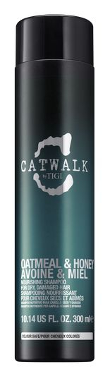TIGI Catwalk Oatmeal & Honey Shampoo - výživný šampon pro suché a poškozené vlasy 300 ml