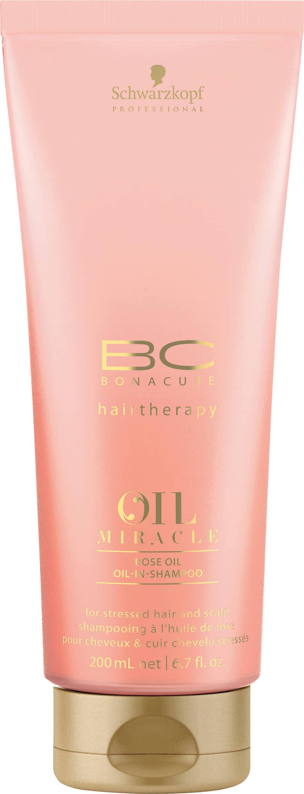 Schwarzkopf BC Bonacure Oil Miracle Rose Oil-In-Shampoo - šampon pro normální až mastnou pokožku 200 ml