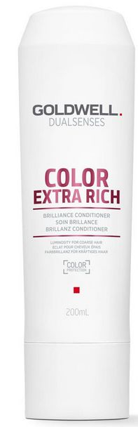 Goldwell Dualsenses Color Extra Rich Brilliance Conditioner - rozplétací kondicionér pro nepoddajné barvené vlasy 200 ml