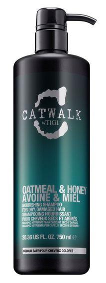 TIGI Catwalk Oatmeal & Honey Shampoo MAXI - hydratační šampon pro suché a poškozené vlasy 750 ml