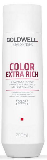 Goldwell Dualsenses Color Extra Rich Brilliance Shampoo - šampon pro nepoddajné barvené vlasy 250 ml