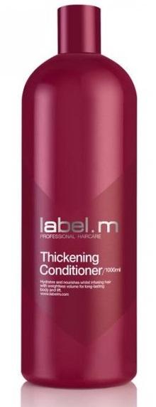Label.m Thickening Conditioner MAXI - kondicioner pro dodání hustoty, objemu a plnosti vlasů 1000 ml