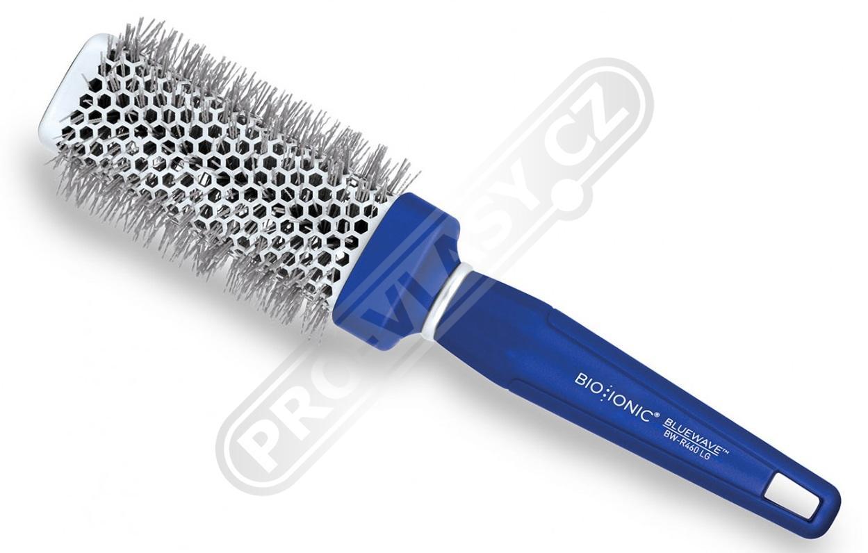 Bio Ionic BlueWave Medium Round Brush - iontový kartáč na vlasy 33mm 76083b6faa0