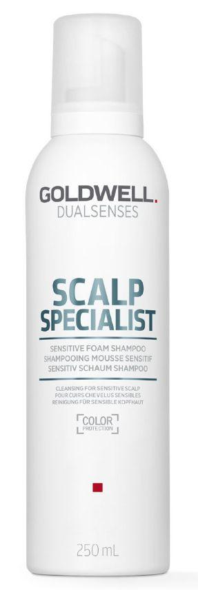 Goldwell Dualsenses Scalp Specialist Sensitive Foam Shampoo - zklidňující pěnový šampon 250 ml