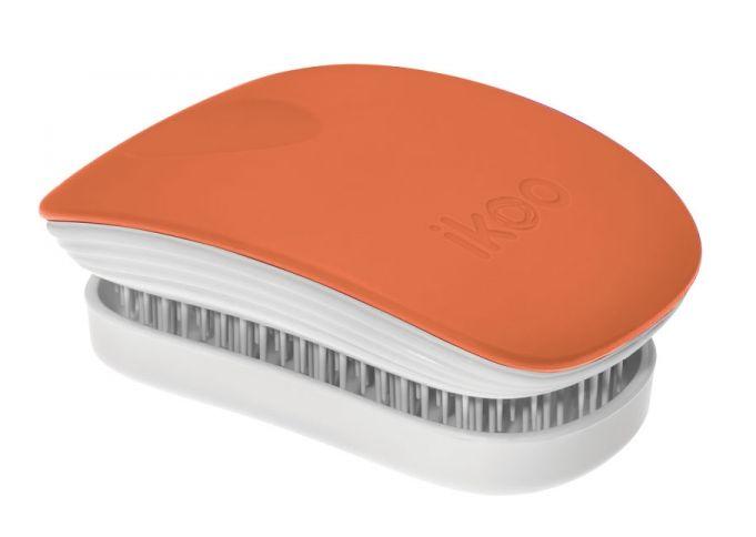 Ikoo Paradise Pocket Orange Blossom White - kartáč pomerančová-bílá