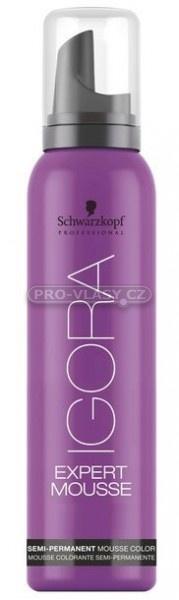 Schwarzkopf Professional Igora Expert Mousse 5-99 - vyživující barvící pěna světlá hnědá fialová 100 ml